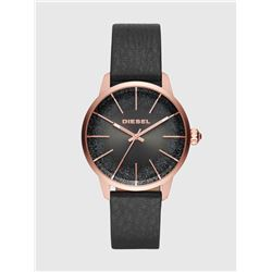 NEW DIESEL 38MM BLACK GLITTERED DIAL MSRP $215
