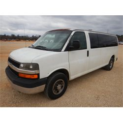2008 CHEVROLET 3500 EXPRESS Passenger Van