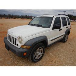 2007 JEEP LIBERTY SUV