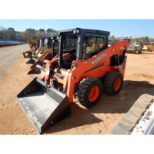 2016 KUBOTA SSV75 Skid Steer Loader - Wheel
