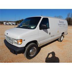 2002 FORD E250 Cargo Van