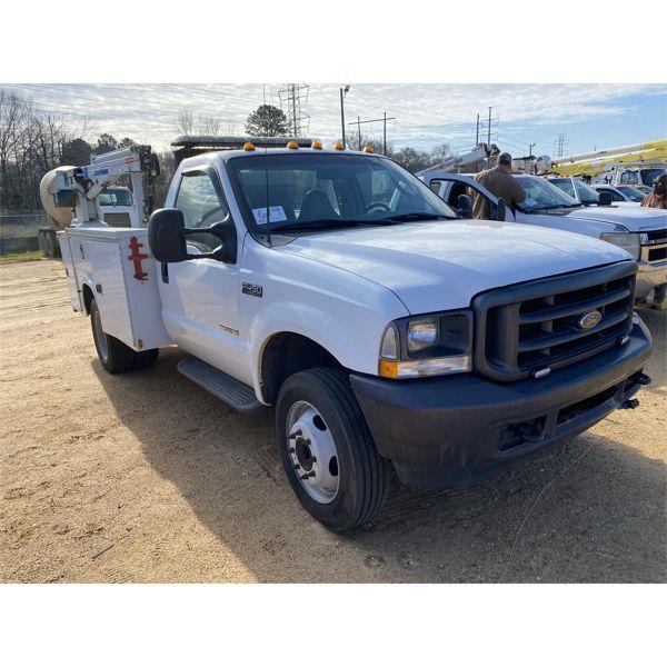 2003 FORD F450 XL Service / Mechanic Truck