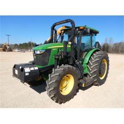 2017 JOHN DEERE 6105E Farm Tractor