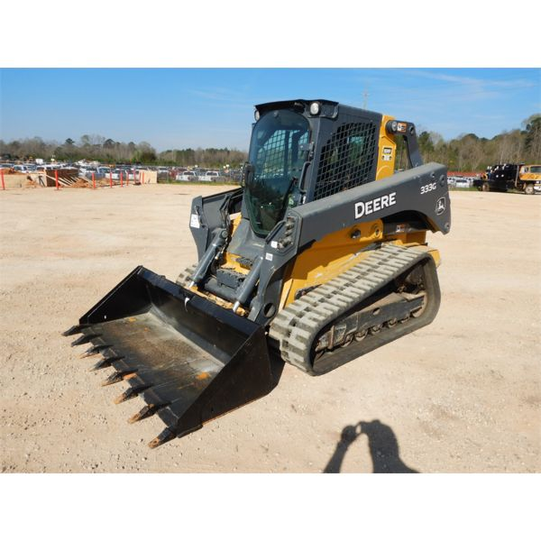 2018 JOHN DEERE 333G Skid Steer Loader - Crawler