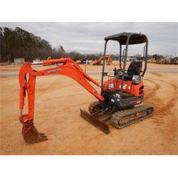 2007 KUBOTA U15R Excavator - Mini