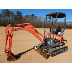2008 KUBOTA U15 Excavator - Mini