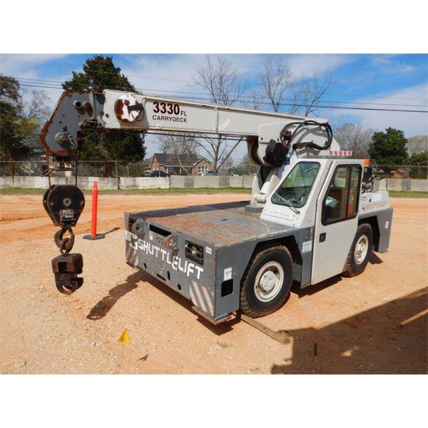 2008 SHUTTLELIFT 3330FL Yard / Carry Deck Crane