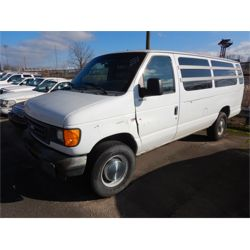 2003 FORD E350 Passenger Van