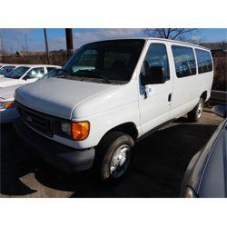 2007 FORD E350 Passenger Van