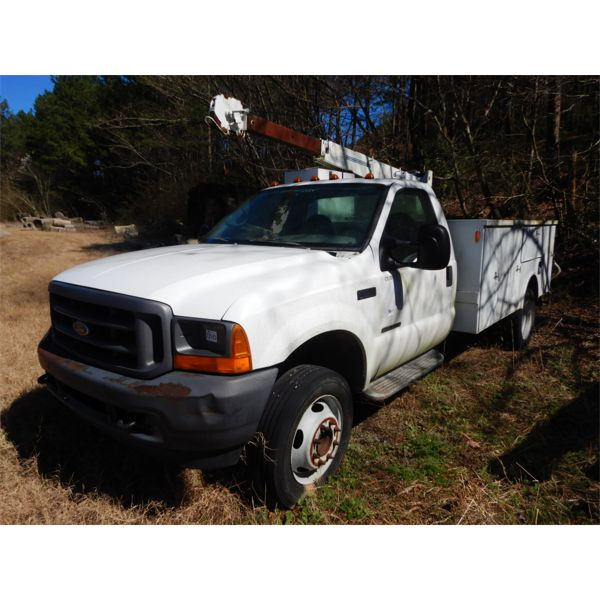 2001 FORD F550 Service / Mechanic Truck