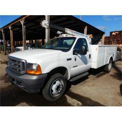2001 FORD F550 Service / Mechanic Truck