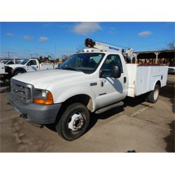 2002 FORD F550 Service / Mechanic Truck