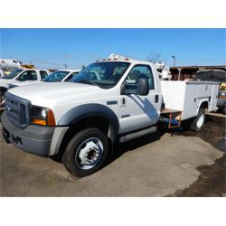 2007 FORD F550 Service / Mechanic Truck