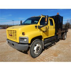 2008 GMC C7500 Flatbed Dump Truck