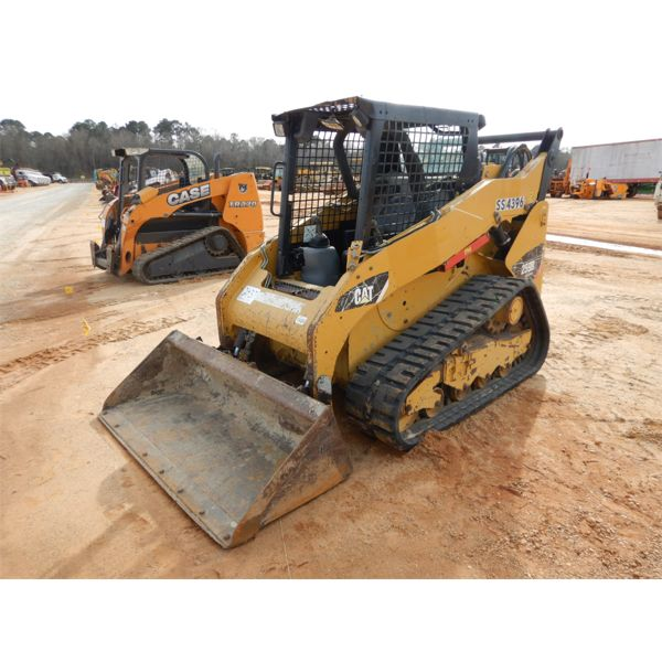 2013 CAT 259B3 Skid Steer Loader - Crawler