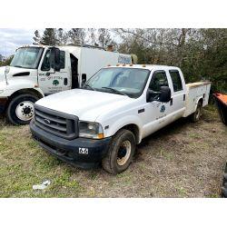 2002 FORD F350 Service / Mechanic Truck