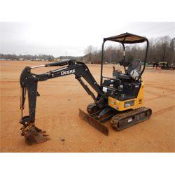 2017 JOHN DEERE 17G Excavator - Mini