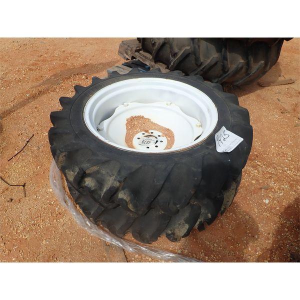 (2) 11.2-28 tires w/rims