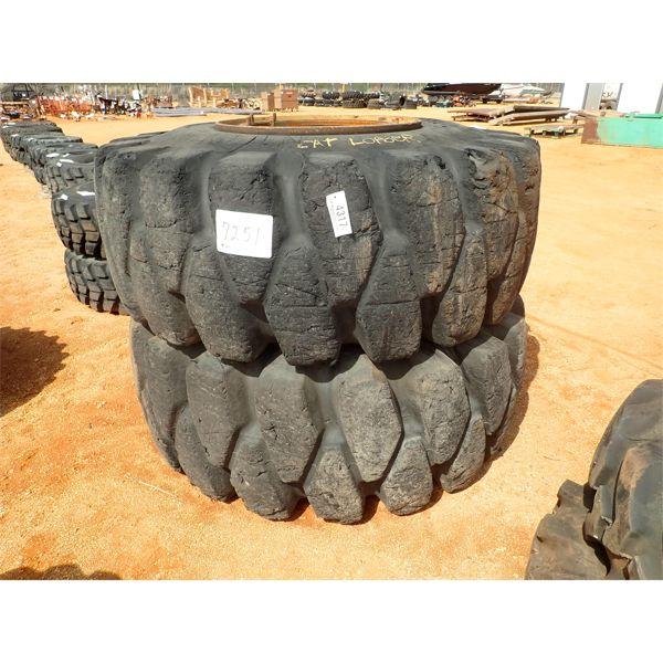 (2) 29.5x29 tires & rims