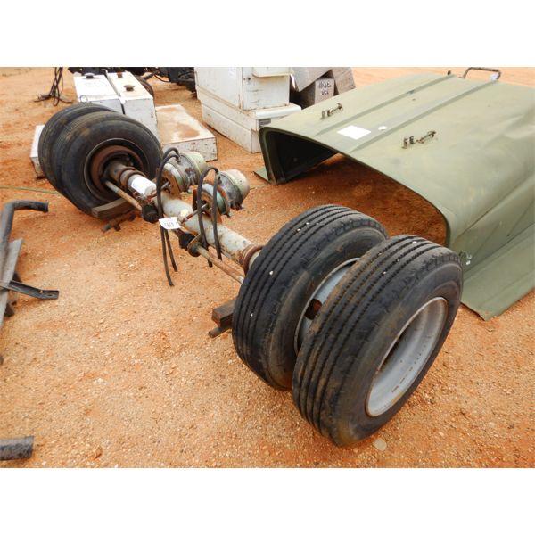 Dual wheel axle, Deter axle/Phillips