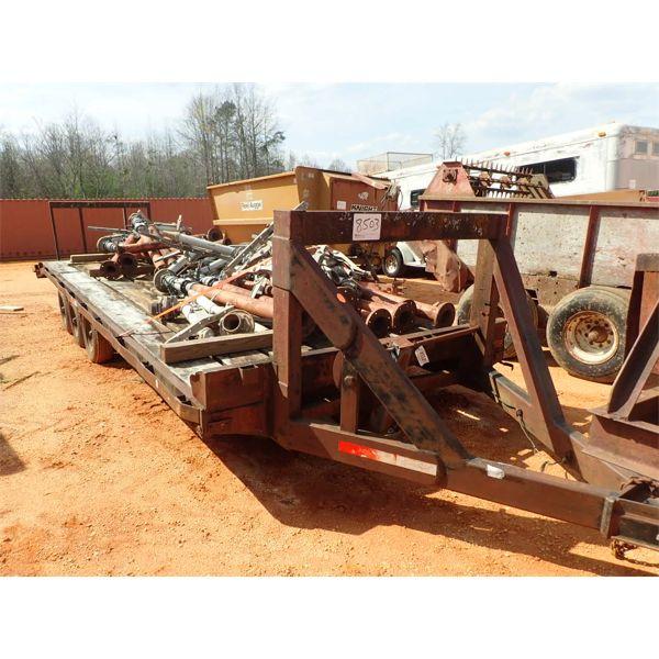 30' Tri axle Utility Trailer