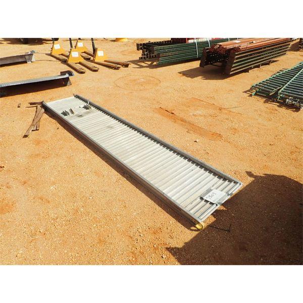 """26"""" x 11.5' aluminum ramp"""