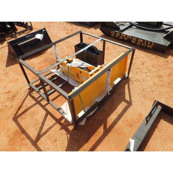 Hyd breaker for skid steer loader