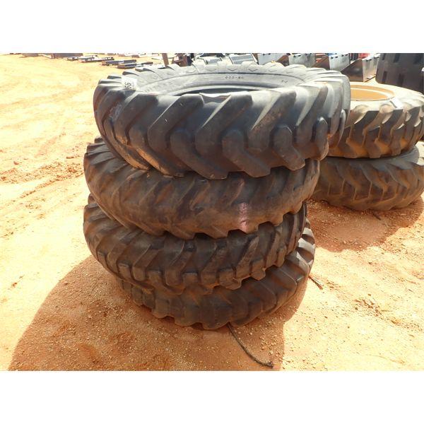 (4) Goodyear 14.00x24 tires