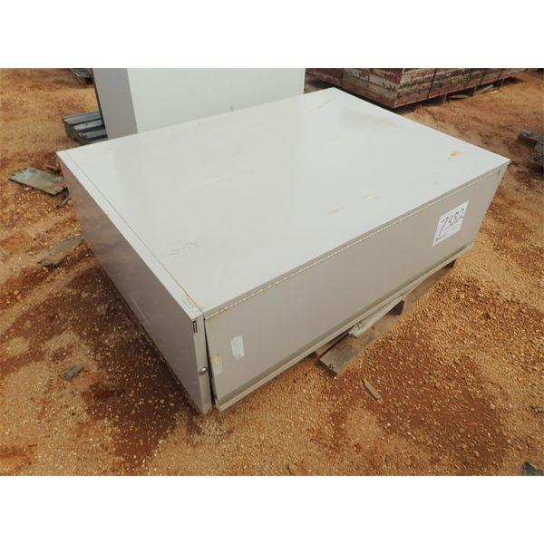 (1) storage cabinet