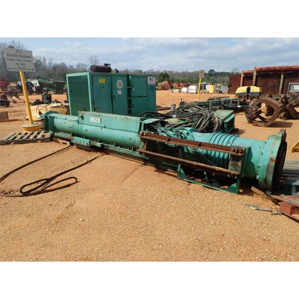 Ice diesel 10C pile driver, hyd hammer