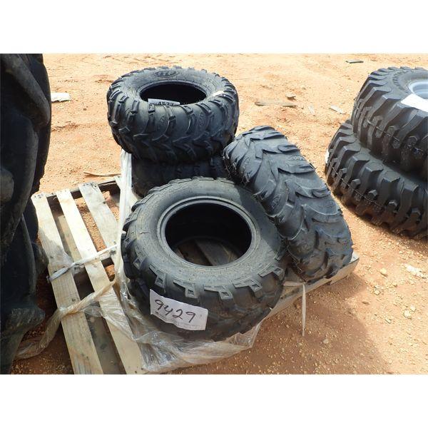 (4) UTV tires
