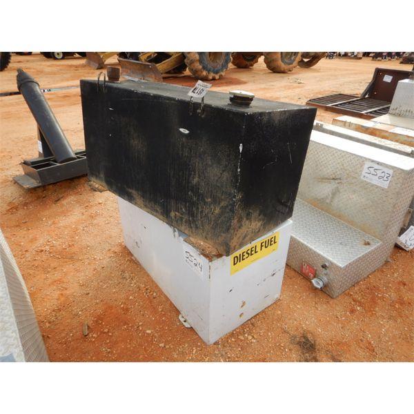 (2) steel fuel tanks