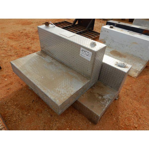 (2) aluminum fuel tanks