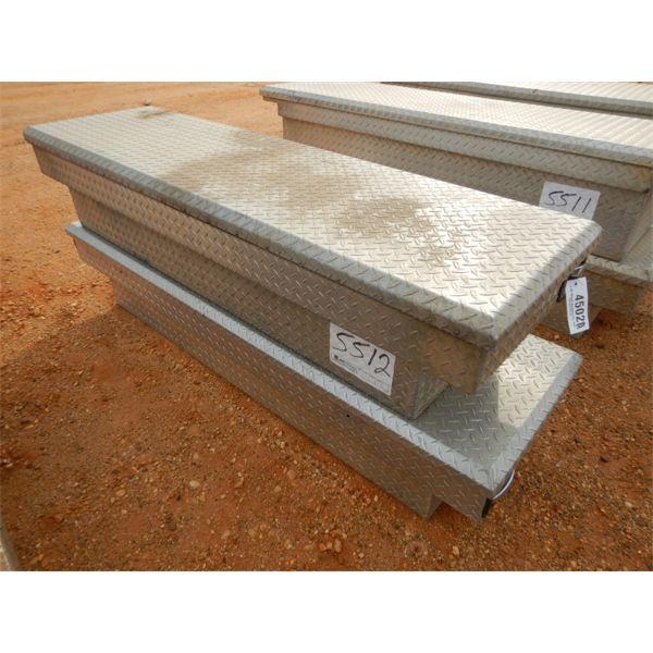 """(2) 71"""" aluminum tool box"""