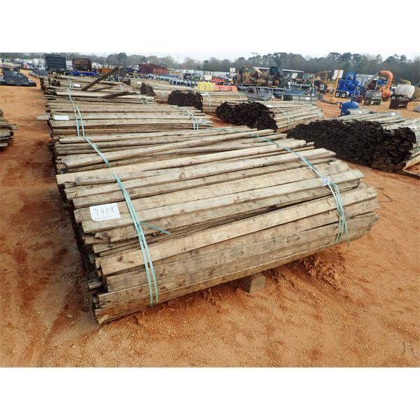 (1) bundle of 1x4x8 reclaimed kill dry southern yellow pine