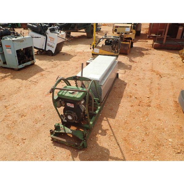 Boring / Tunneling machine w/rods, gas engine