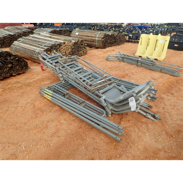 (1) bundle galvanize ladder & scaffolds