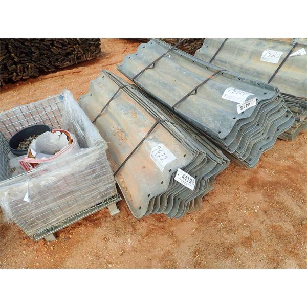 (1) bundle galvanize guard rail
