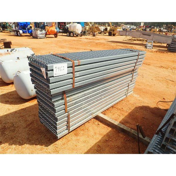 (3) bundle 8' long galvanized catwalk