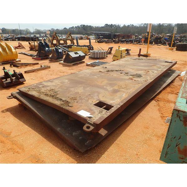 (2) 8'x20' trench box