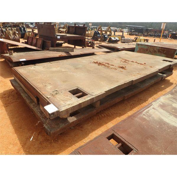 (2) 8'x16' trench box