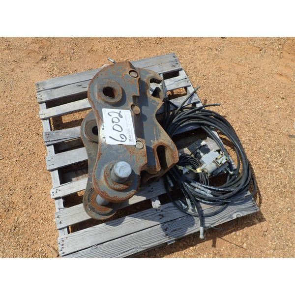 hyd quick coupler