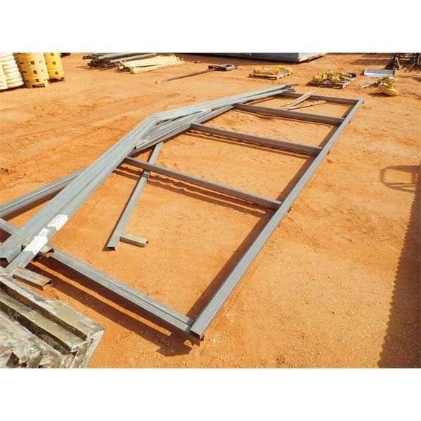26' x 24' galvanized steel frame building