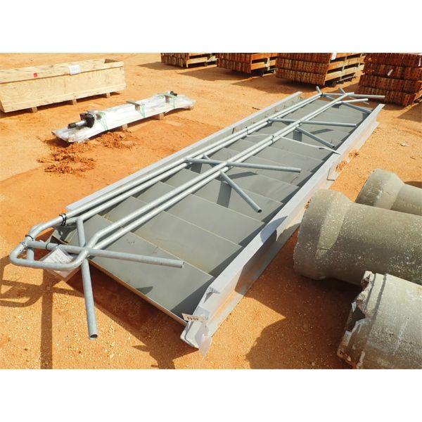 15' metal staircase w/hand rails