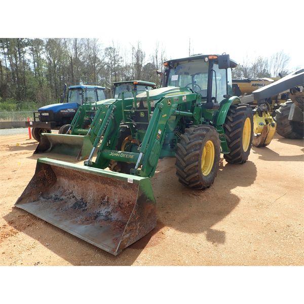 2015 JOHN DEERE 6130D Farm Tractor