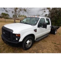 2009 FORD F350 Flatbed Truck