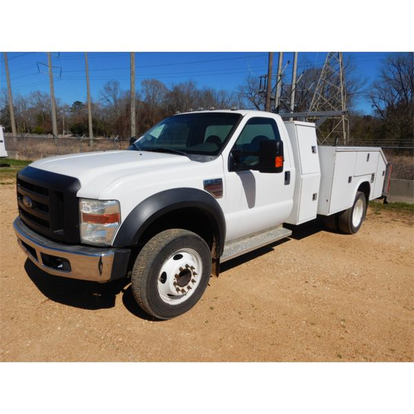 2008 FORD F550 Service / Mechanic Truck