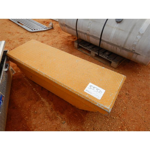 Aluminum above bed tool box