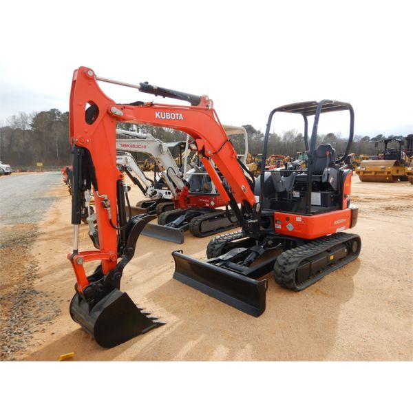 2017 KUBOTA KX033-4 Excavator - Mini