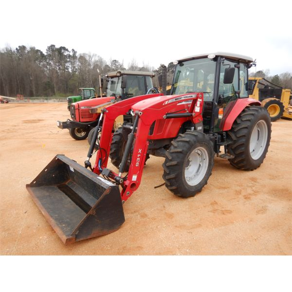 2014 MASSEY FERGUSON 4610 Farm Tractor